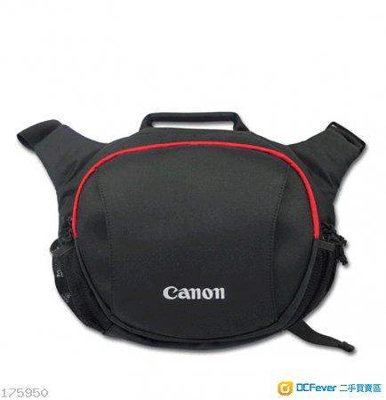Canon單肩相機袋連防水雨罩