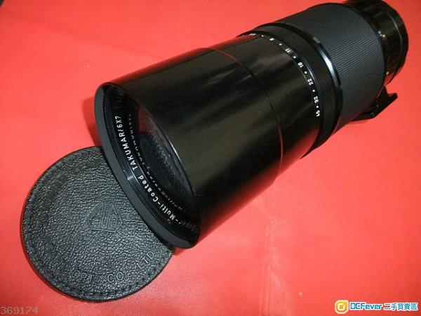 Pentax 400mm F4 S-M-C Takumar 67連原庄瀘鏡 平玩頂級中幅大光圈484 成像極銳利