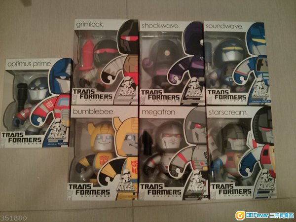 變型金剛 Transformers Mighty Muggs