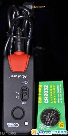 全港獨賣 Canon 兩用遙控器加快門線 for Canon600D,650D,60D,550D.,1000D 450D  400D