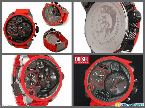 Diesel DZ7279 手錶 鐘表 100%全新 香港行貨 2年原廠保養 現貨供應 鋼帶