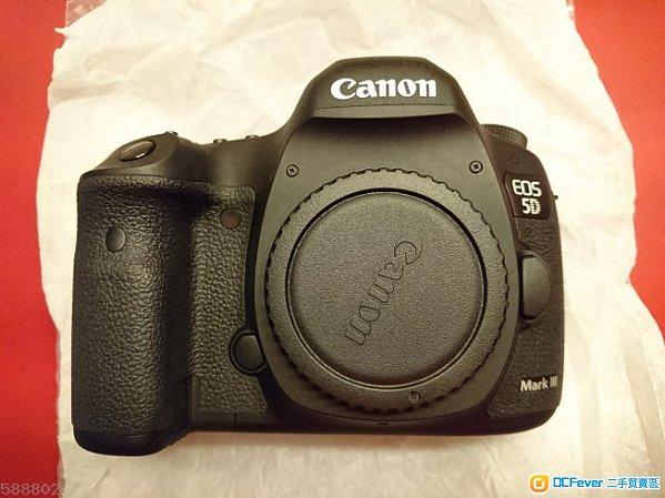 99%新Canon5D3 5D Mark III 2017年入 行貨SC347+3正電連直倒+快卡+70-200L f2.8換7D2/80D
