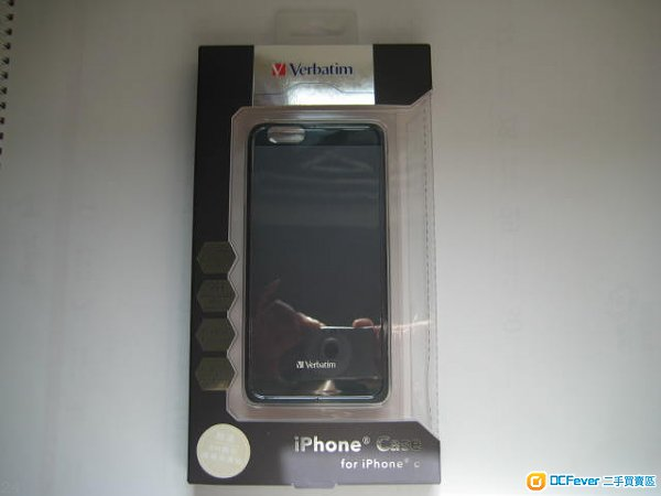 Verbatim iPhone® Case for iPhone 6 6s (Black) (連玻璃貼) (100% new)