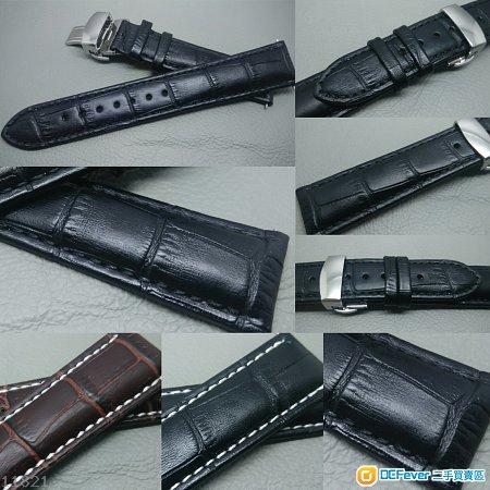 22mm錶帶 21mm錶帶 20mm錶帶 19mm錶帶 18mm錶帶 鱷魚紋錶帶 ROLEX TUDOR IWC OMEGA SEIKO