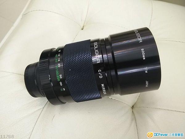 Soligor 500mm F8 反射鏡 Reflex (not Tamron)