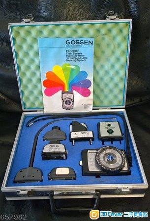 理想中最佳專業測光系統:Gossen Profi-Six System 不論你是專業或發燒的人像/廣告/產品/電影/平面/婚禮/微電影攝影師