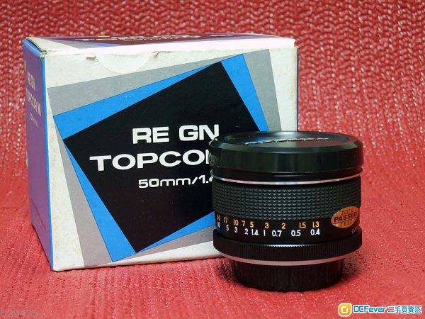 Topcon Tokyo Kogaku RE GN Topcor M 50mm f1.4