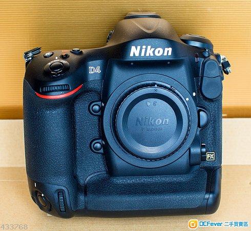 極新行貨Nikon D4,SC<1,400,2粒D5電,64/32GBCF快卡($4,7xx)可換D500/D750/D810另售SB900