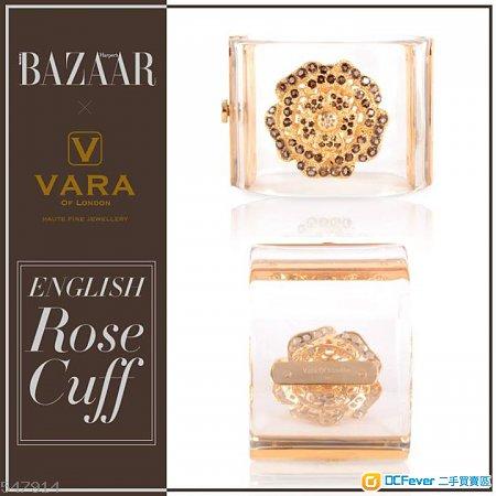 100%New 100%Real Vara of London The English Rose 手鐲一隻(價值$15,000)