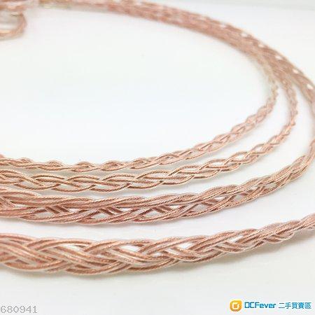 [旗艦級單晶銅] 澳洲 Coppercraft 單晶銅 8絞漆皮透明色版 Shure升級線 se535 215 ue900 westone