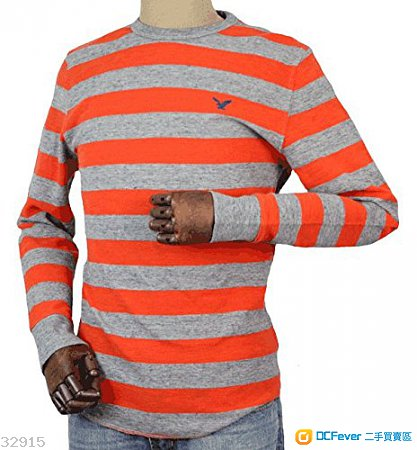 (全新) 男裝American Eagle AEO 長袖 T-shirt 原價$340 (Hollister Zara A&F Tommy)