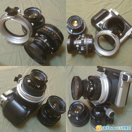 instax wide 300/mamiya press mount/75mm f5.6