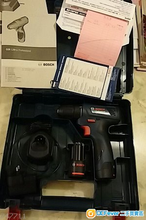 BOSCH GSR-120LI 電批鑽
