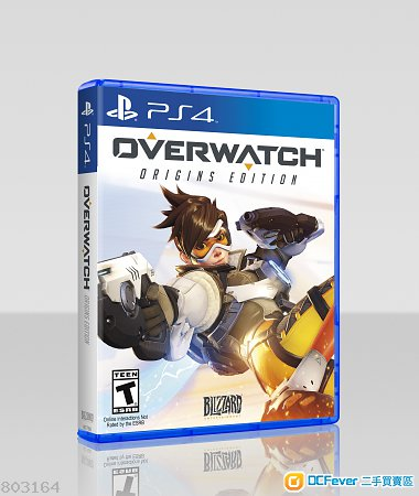 PS4 Overwatch 鬥陣特攻