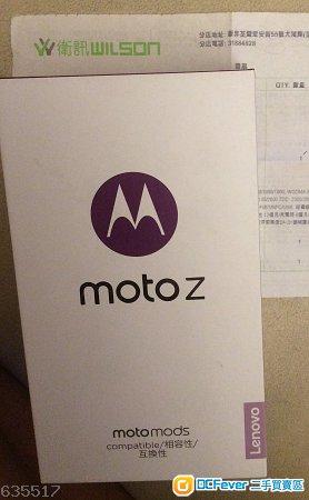99.9% 新 Moto Z 雙咭機 衛訊行貨 + 多項配件