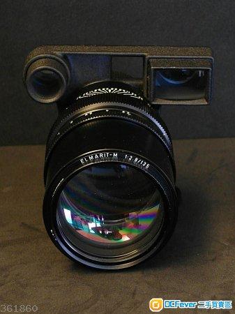 Leica  135mm F2.8    Elmarit M  連眼平