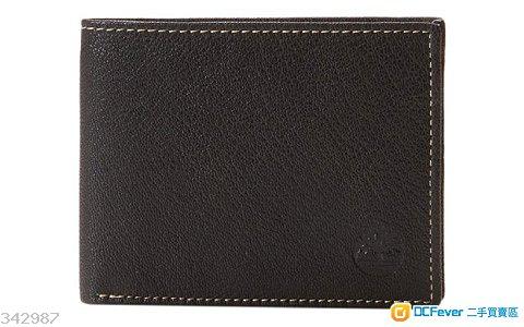 原裝 Timberland Men's Leather Cavalieri Passcase 100%真皮 銀包 男裝 禮物