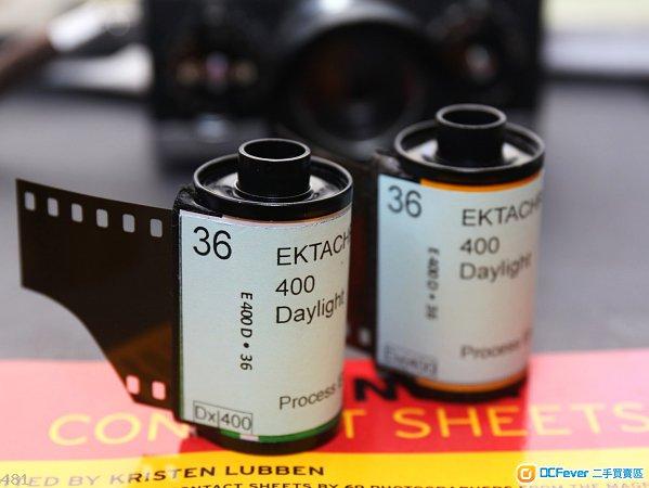 Discontinued Ektachrome400D cine colour reversal film/slide (135/36)