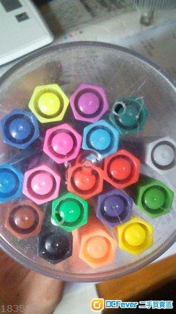 可水洗水彩筆 18色Washable Color Marker小朋友勞作美術文具顏色筆