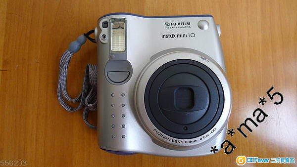 Fujifilm instax mini 10 即影即有,背光時更可強制閃燈燈光