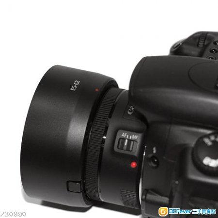 ES-68 代用 Bayonet Mount Lens Hood For Canon EF 50mm f/1.8 STM Lens Bl