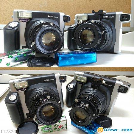 fuji instaxwide 300/mamiya 100/可換鏡