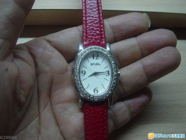 新淨 高雅斯文 folli follie 閃石 女裝手錶,只售HK$230(不議價)