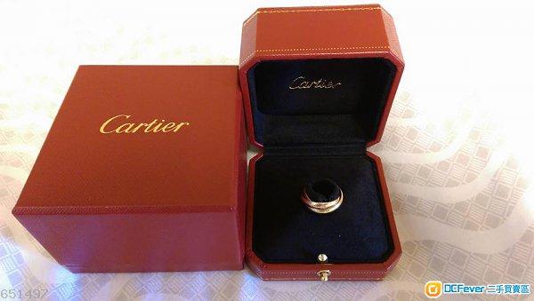 Trinity de Cartier 戒指 - 中型款