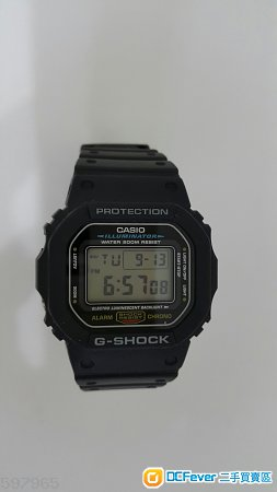 G-shock 克色DW5600E-1UDF