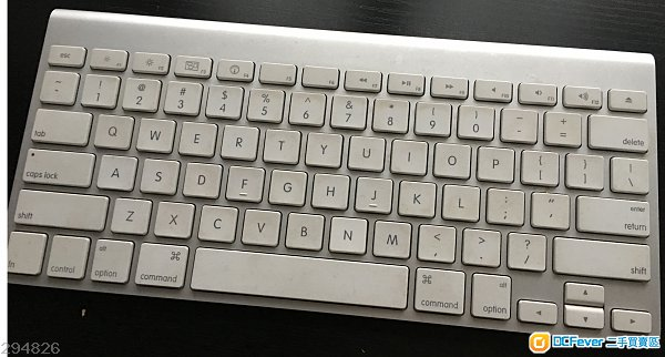 Apple Magic keyboard (bluetooth)