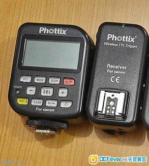 Phottix Odin Flash Trigger for Canon(1 Transmitter, 1 Receiver)