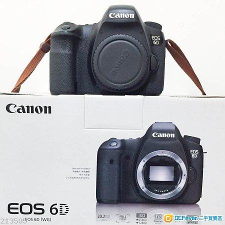 出售Canon 6D (body only)