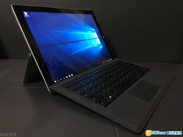 Surface pro 3  (80%new, 128gb i5) 連筆連keyboard
