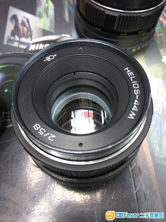 八羽怪 HELIOS-44M 58 F2 (SONY E / FUJI X / M43 / EOS / EOSM mount)