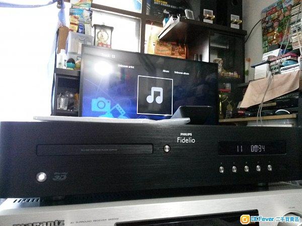 菲利普 PHlLlPS BDP9700 高级3D蓝光碟机机