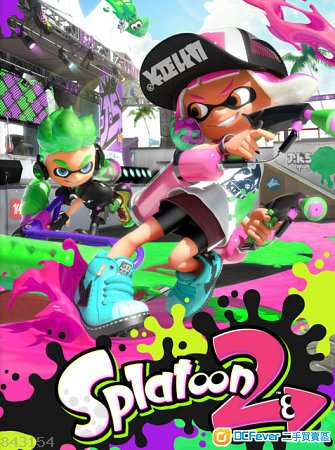 出售 Switch Splatoon 2 日文版