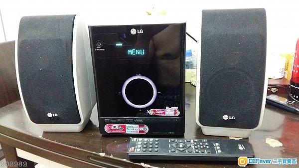 LG mini CD/DVD Hi-Fi System 220V