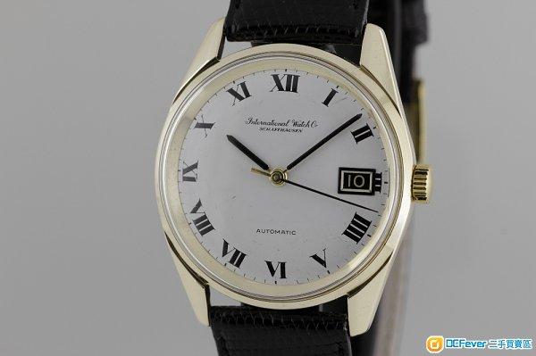 中古IWC(萬國錶) 機械自動,日曆,9K solid gold腕錶