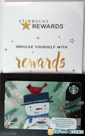 Starbucks Card with 300 cash dollars