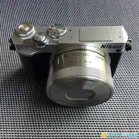 Nikon j5 body + 10-30mm f/3.5-5.6 pd zoom 銀色 not v1 v2 v3 j1 j2 j3 j4
