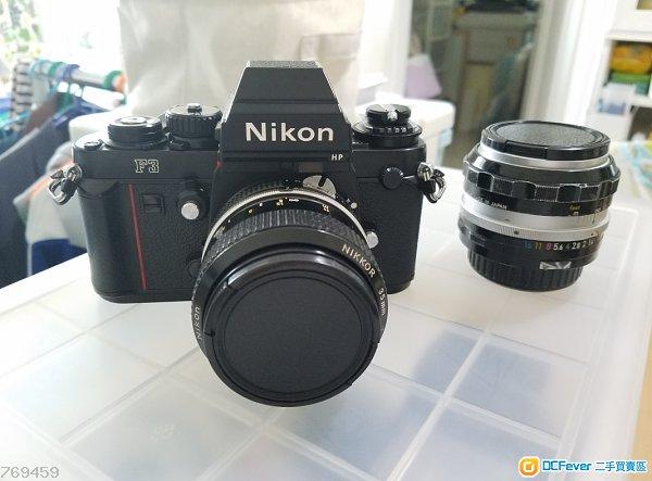 Nikon F3HP 加35mm 及、50mm鏡頭