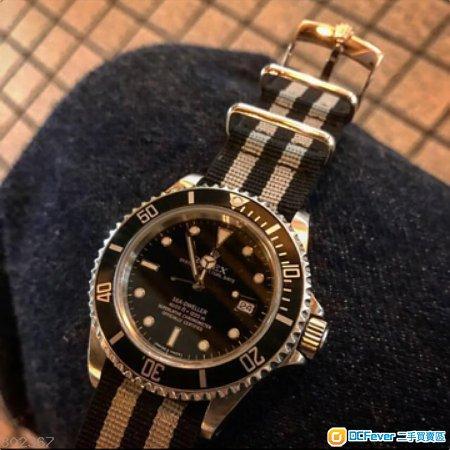 ROLEX & TUDOR Buckle 20mm NATO Strap 錶帶 鋼扣 116610 16600 16610 16710