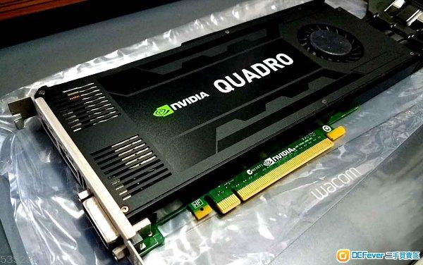 Quadro K4000 專業顯示卡