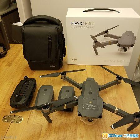 DJI Mavic Pro Fly Combo 行貨 2017/6月買