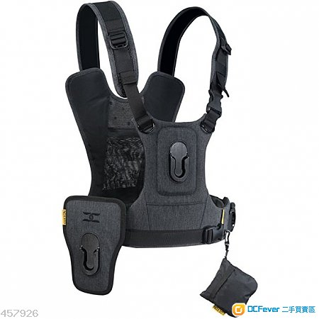 CottonCarrier G3 arness for2 Camera Gray(99% New) 送Carry Speed FS-Pro