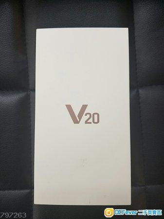 【全新未開封】LG V20 (64GB/4GB,黑/銀,港版上台機跟單,有單據,有保養,未開封)