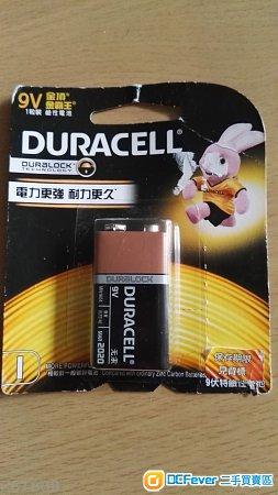 全新金霸王9v電池