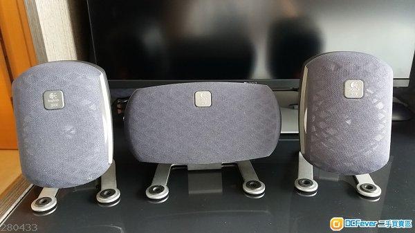 Logitech Z680 THX certified speakers 認證喇叭