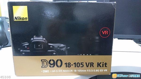 Nikon D90 淨機身 九成新 100%正常 有單有盒