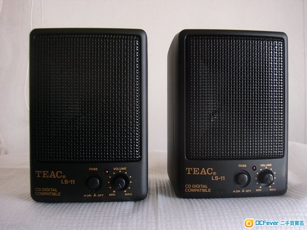 TEAC mini speaker with built-in amplifier